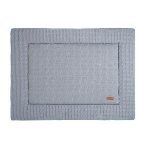 Playpen mat Cable grey - 80x100