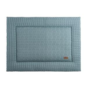Playpen mat Cable stonegreen - 80x100