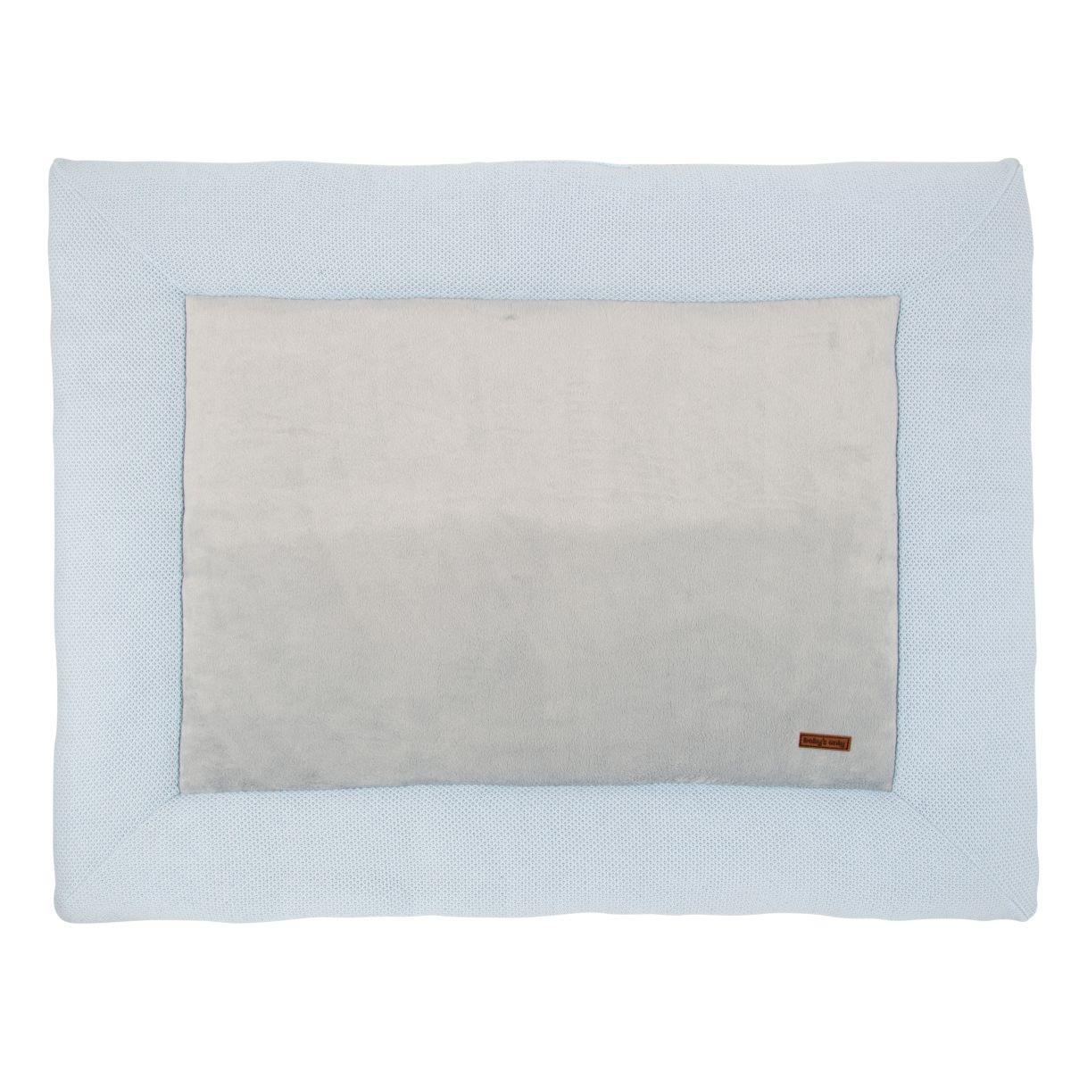 playpen mat classic powder blue 75x95