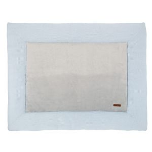 Playpen mat Classic powder blue - 75x95