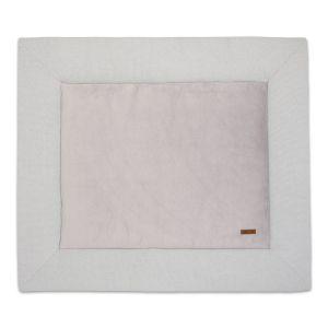 Playpen mat Classic silver-grey - 80x100