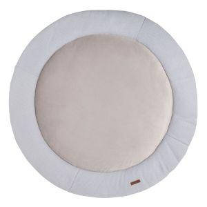 Playpen mat Classic silver-grey - Ø90 cm