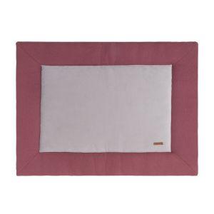Playpen mat Classic stone red - 75x95