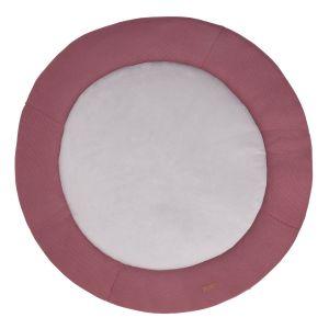 Playpen mat Classic stone red - Ø90 cm