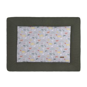 Playpen mat Forest khaki - 75x95