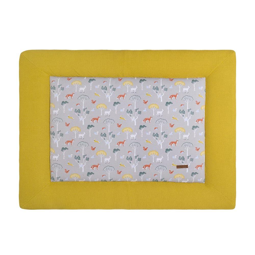 playpen mat forest mustard 75x95
