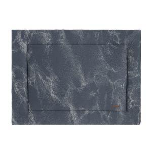 Playpen mat Marble granit/grey - 80x100