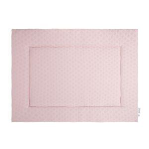 Playpen mat Reef misty pink - 80x100