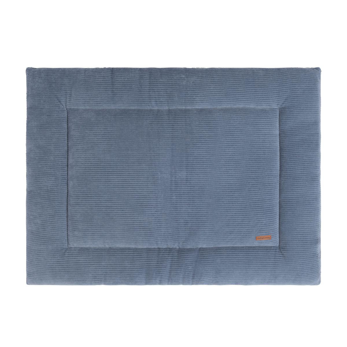 playpen mat sense vintage blue 75x95