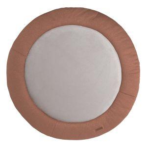 Playpen mat Sparkle copper-honey melee - Ø90 cm