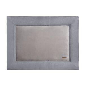 Playpen mat Sparkle silver-grey melee - 75x95