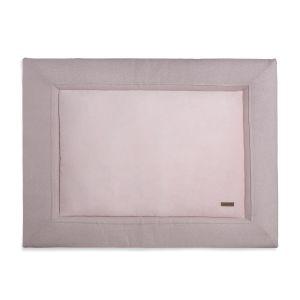 Playpen mat Sparkle silver-pink melee - 75x95