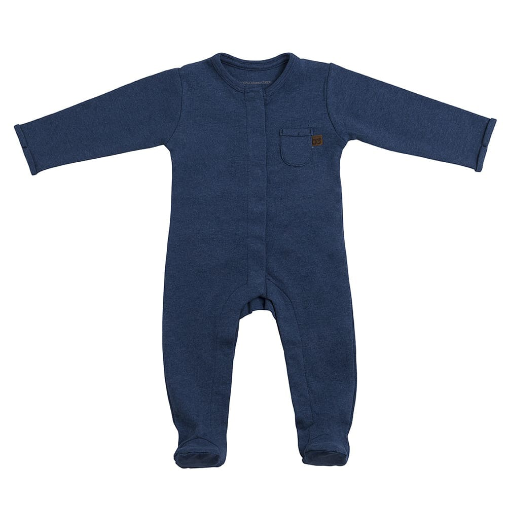 playsuit with feet melange jeans 50