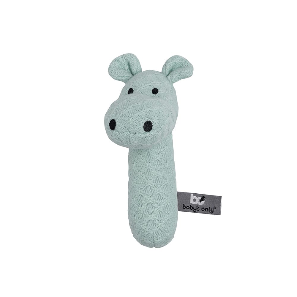 rattle hippo mint