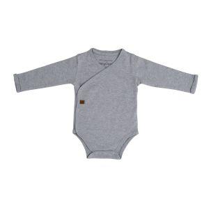 Romper long sleeves Melange grey - 50