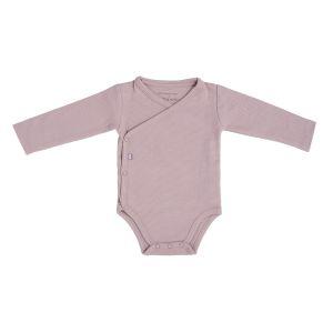 Romper long sleeves Pure old pink - 50