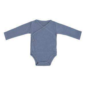 Romper long sleeves Pure vintage blue - 50