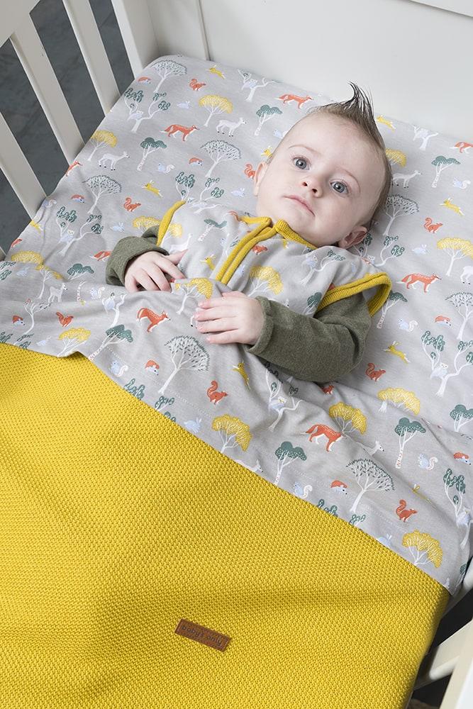 sleeping bag forest mustard 90 cm