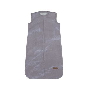 Sleeping bag Marble cool grey/lilac - 70 cm