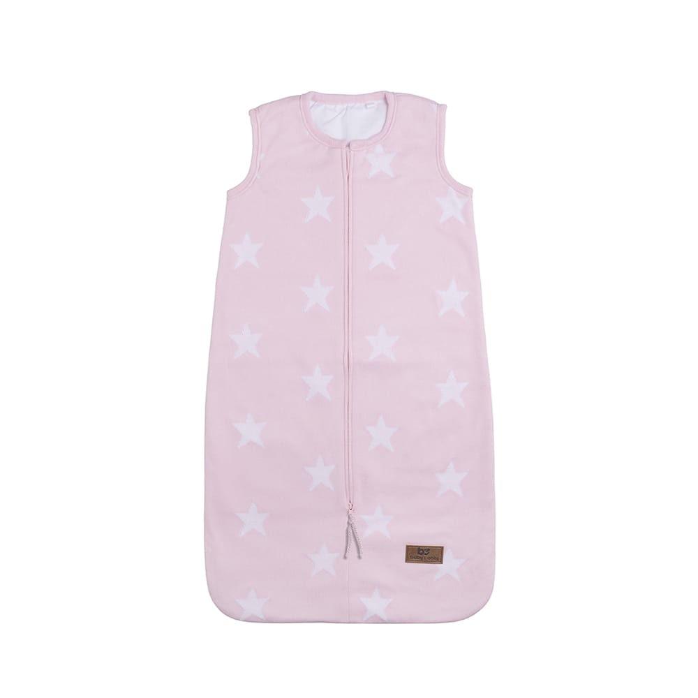 sleeping bag star baby pinkwhite 90 cm