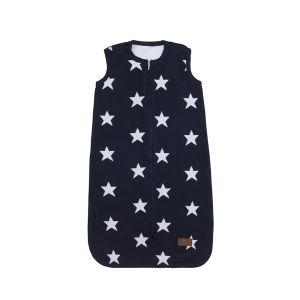 Sleeping bag Star dark blue/white - 90 cm