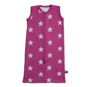 Sleeping bag Star fuchsia/white - 90 cm
