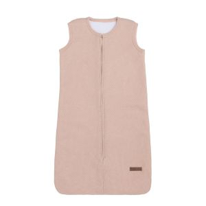 Sleeping bag teddy Classic blush - 70 cm