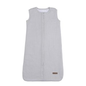Sleeping bag teddy Classic silver-grey - 70 cm