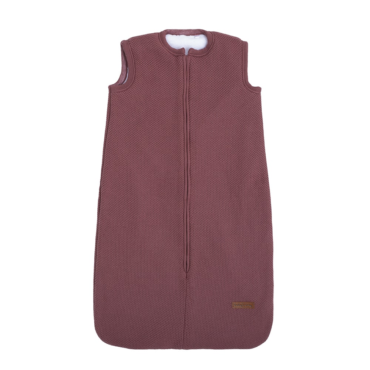 sleeping bag teddy classic stone red 70 cm