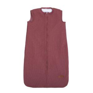 Sleeping bag teddy Classic stone red - 70 cm