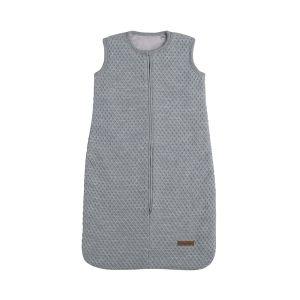 Sleeping bag teddy Sun grey/silver-grey - 70 cm