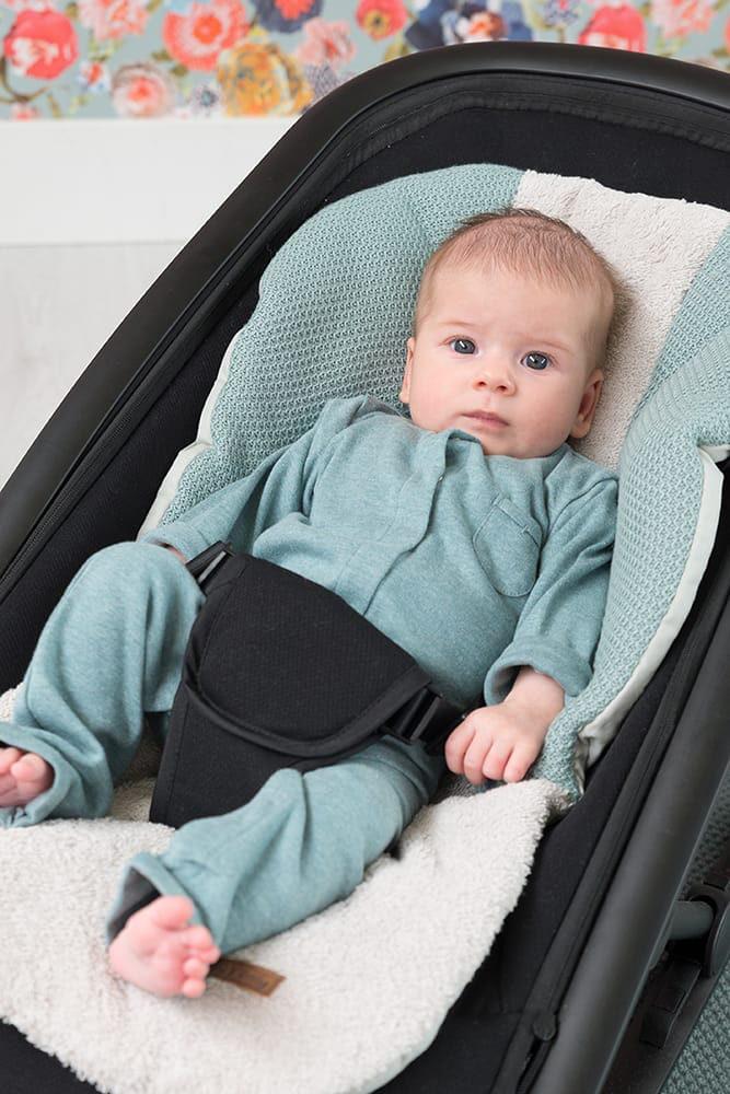 sleepsuit melange classic pink 62