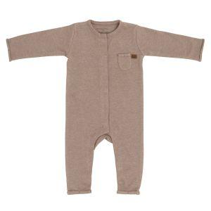 Sleepsuit Melange clay - 68