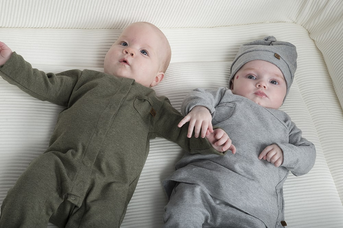 sleepsuit melange grey 50