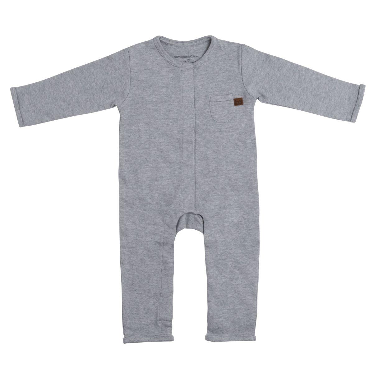 sleepsuit melange grey 62