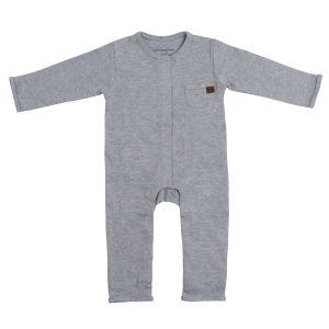 Sleepsuit Melange grey - 68