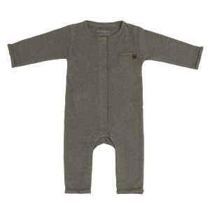 Sleepsuit Melange khaki - 62