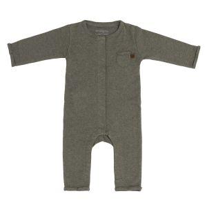 Sleepsuit Melange khaki - 68