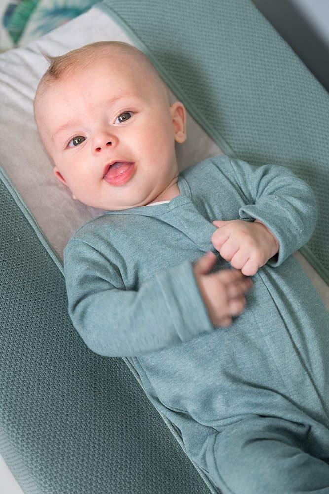 sleepsuit melange stonegreen 50