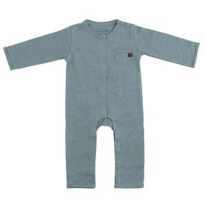 Sleepsuit Melange stonegreen - 56