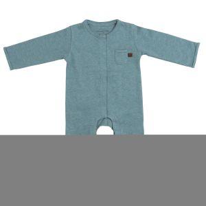 Sleepsuit Melange stonegreen - 62