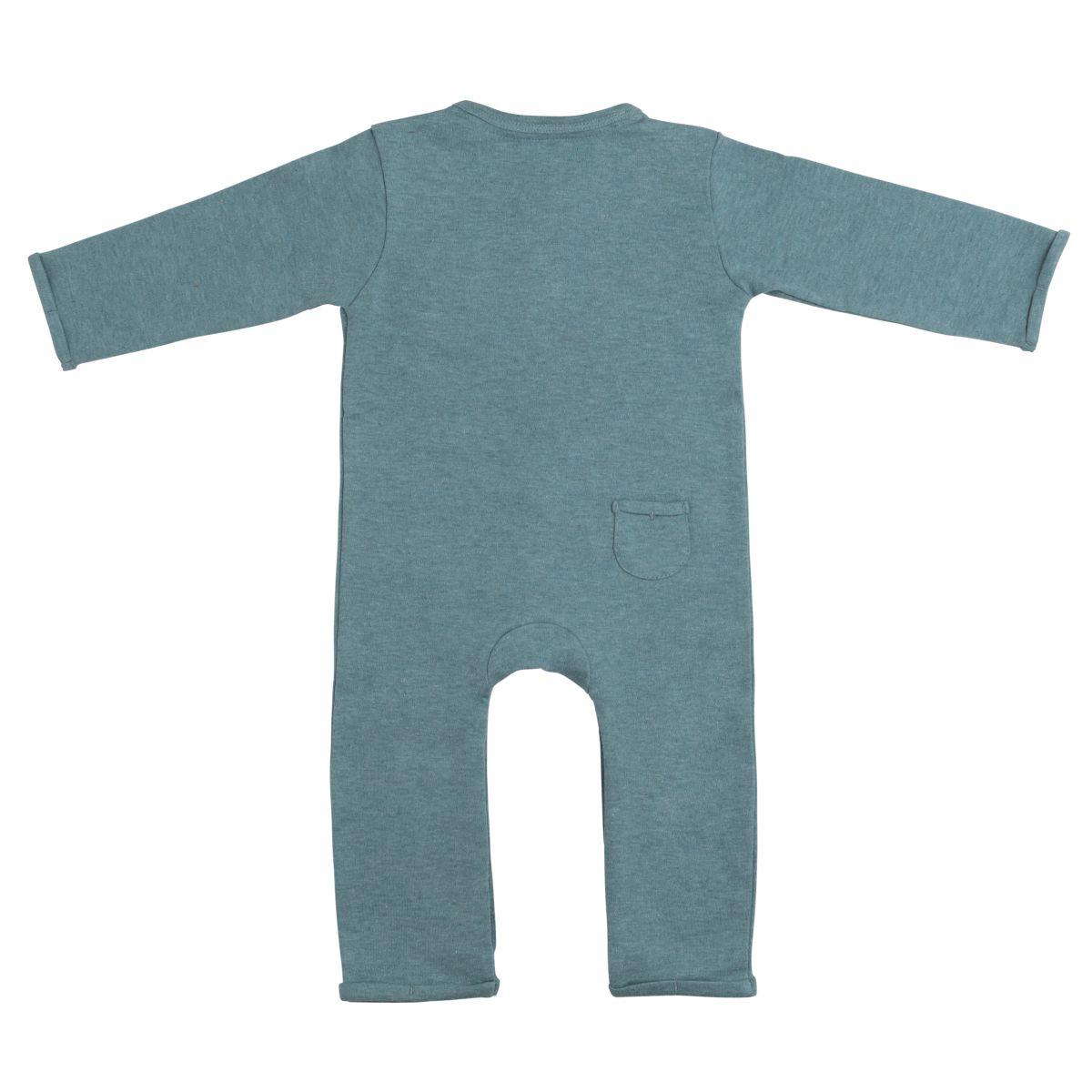 sleepsuit melange stonegreen 68