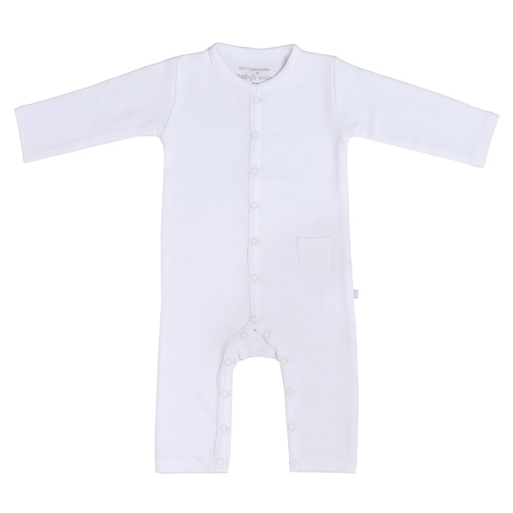 sleepsuit pure white 62