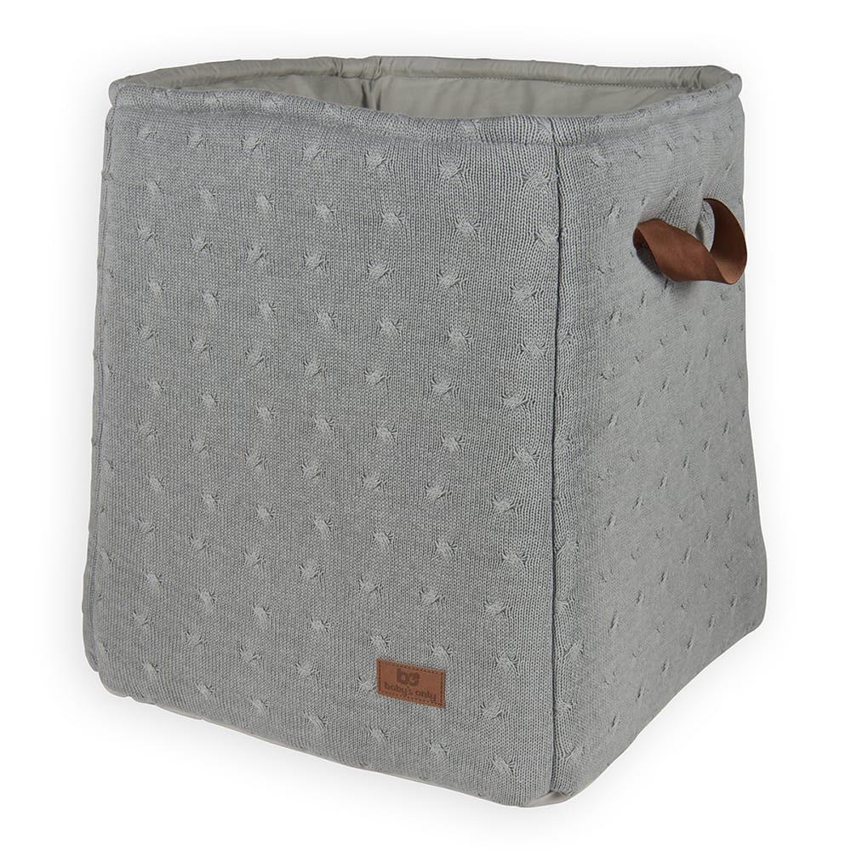 storage basket cable grey