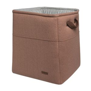 Storage basket Sparkle copper-honey melee