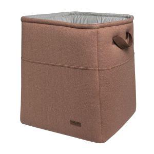 Storage basket Sparkle copper-honey melee