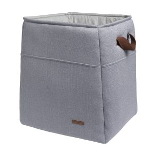 Storage basket Sparkle silver-grey melee
