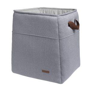 Storage basket Sparkle silver-grey melee