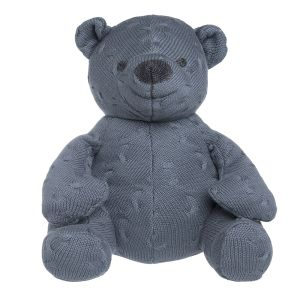 Stuffed bear Cable granit - 35 cm
