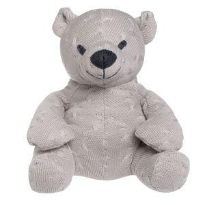 Stuffed bear Cable loam - 35 cm